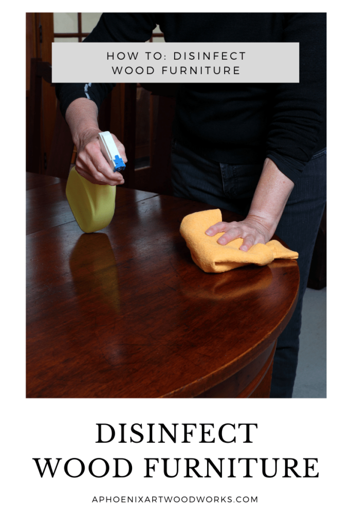 Disinfect Wood Furniture